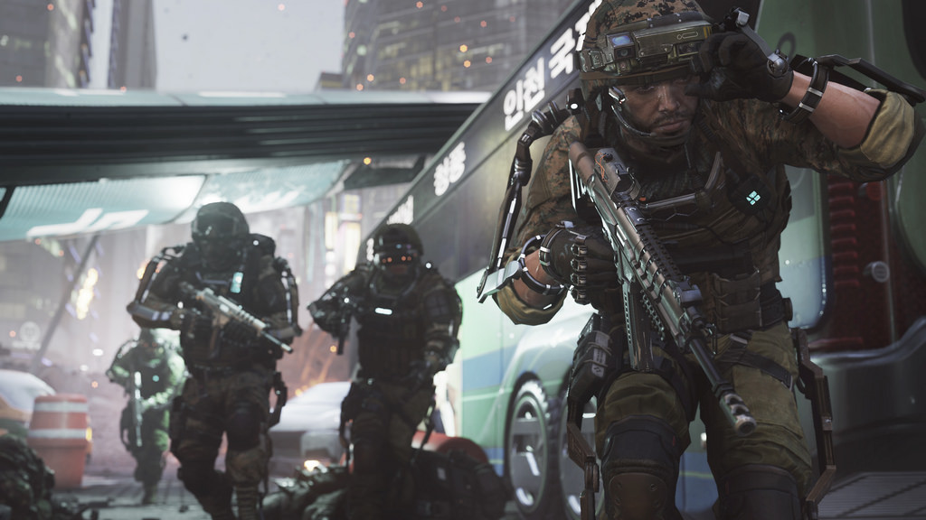 A scene from 'Call of Duty: Advanced Warfare'
