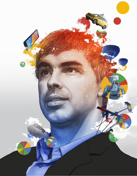 Google CEO, Larry Page, Fortune Business Person of the Year 2014