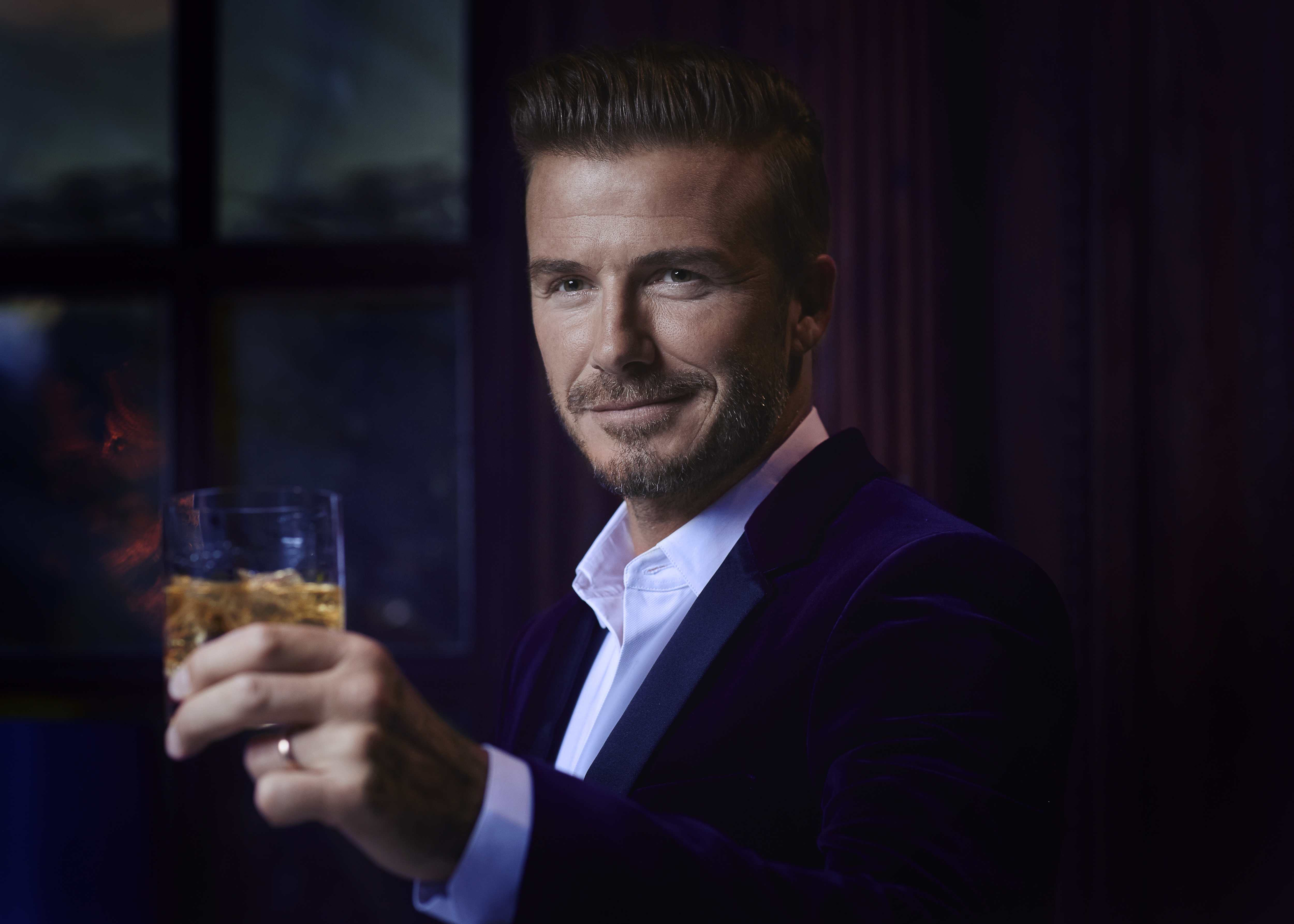 Beckham is leading the celeb campaign for In.