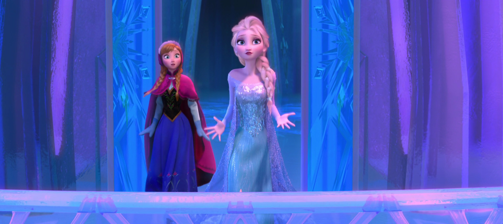Frozen's Anna and Elsa are the most dominate toy property of 2014.