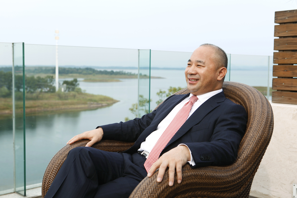 Amer CEO and founder Wang Wenyin