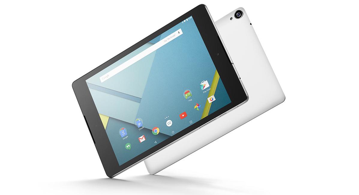 Google's Nexus 9 tablet.