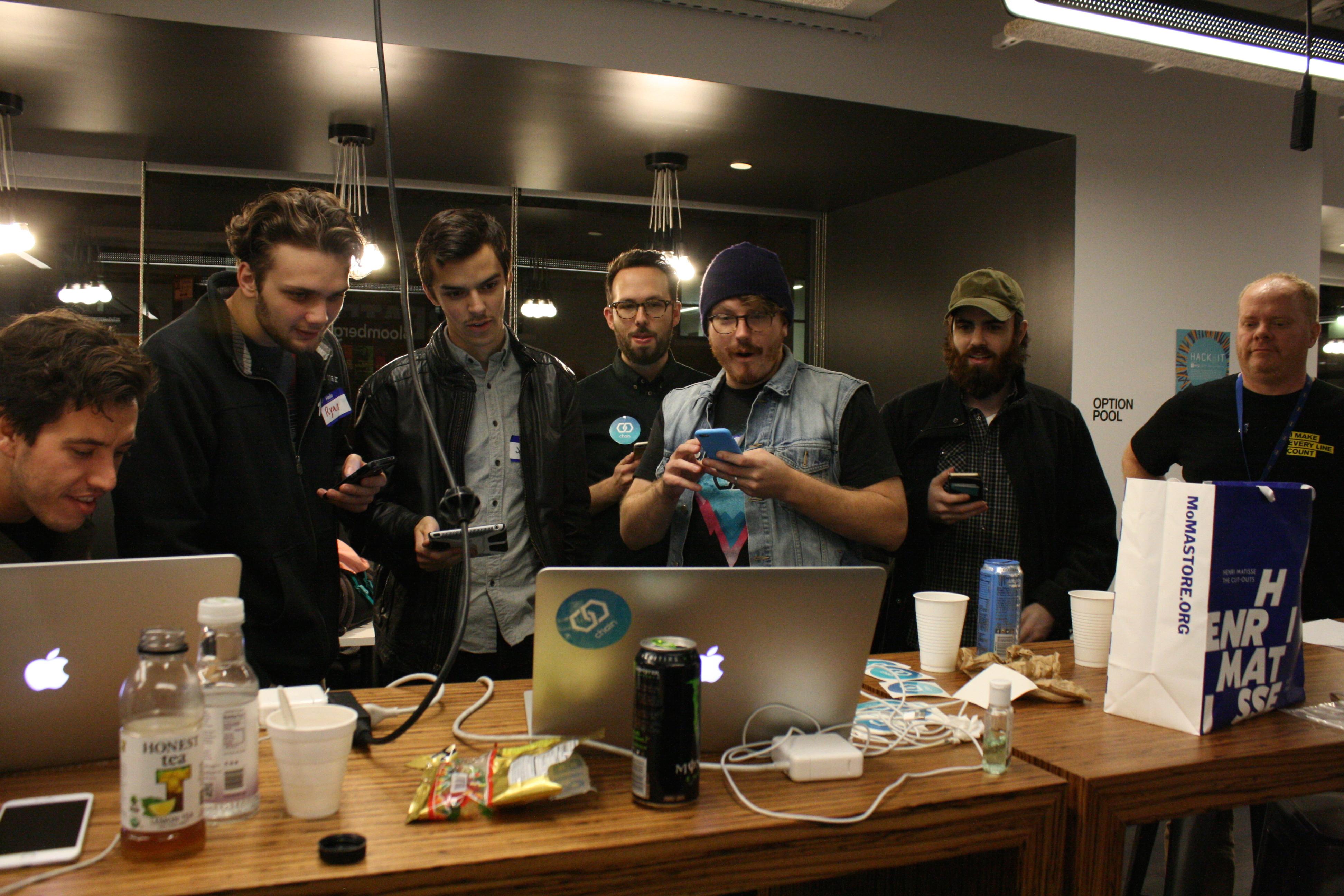 NYU bitcoin hackathon 2014