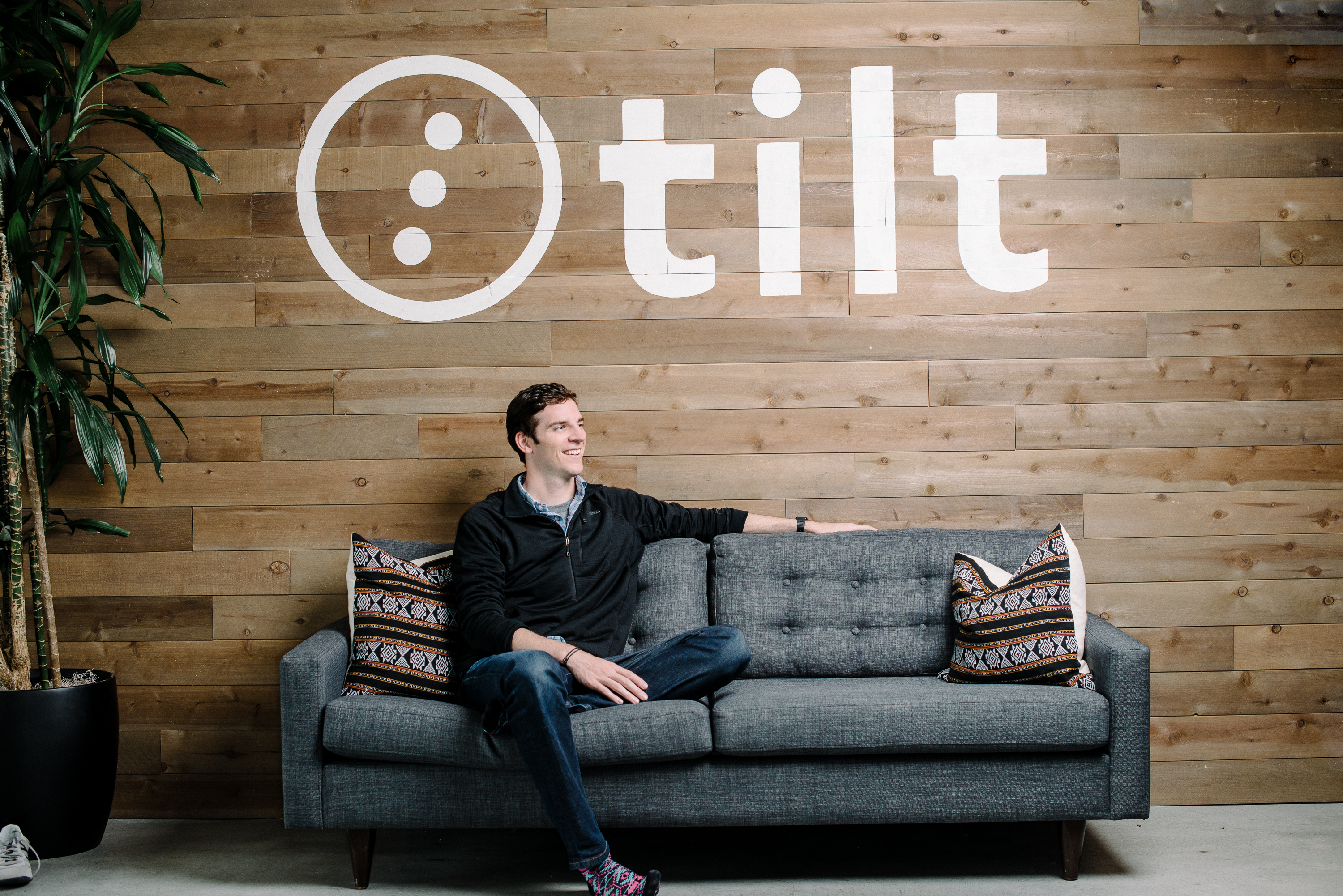 Tilt CEO James Beshara at its offices in San Francisco