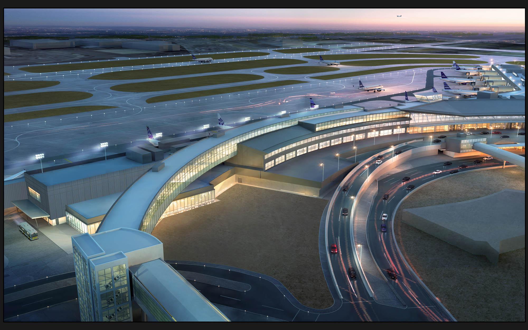 JetBlue's T5i arrivals terminal