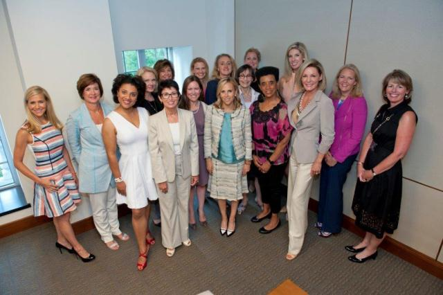 Tory Burch surrounds herself with mentors taking part of the Elizabeth Street Capital program.