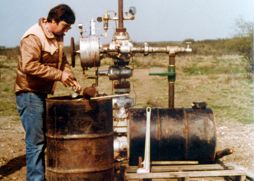 Rod Lewis, Lewis Energy, shale gas well