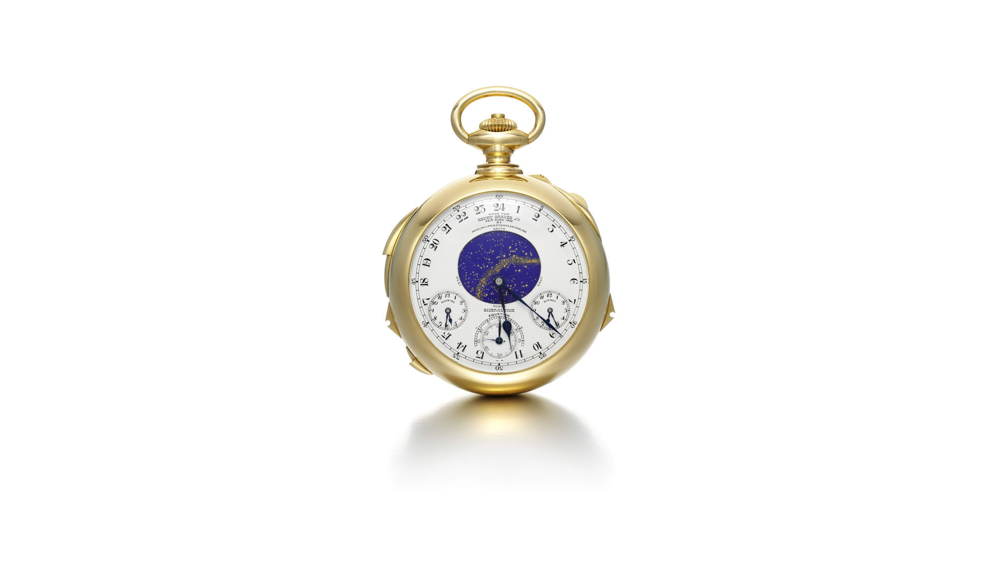 The Graves Supercomplication is slated for auction in Geneva on Nov. 11th, 2014.