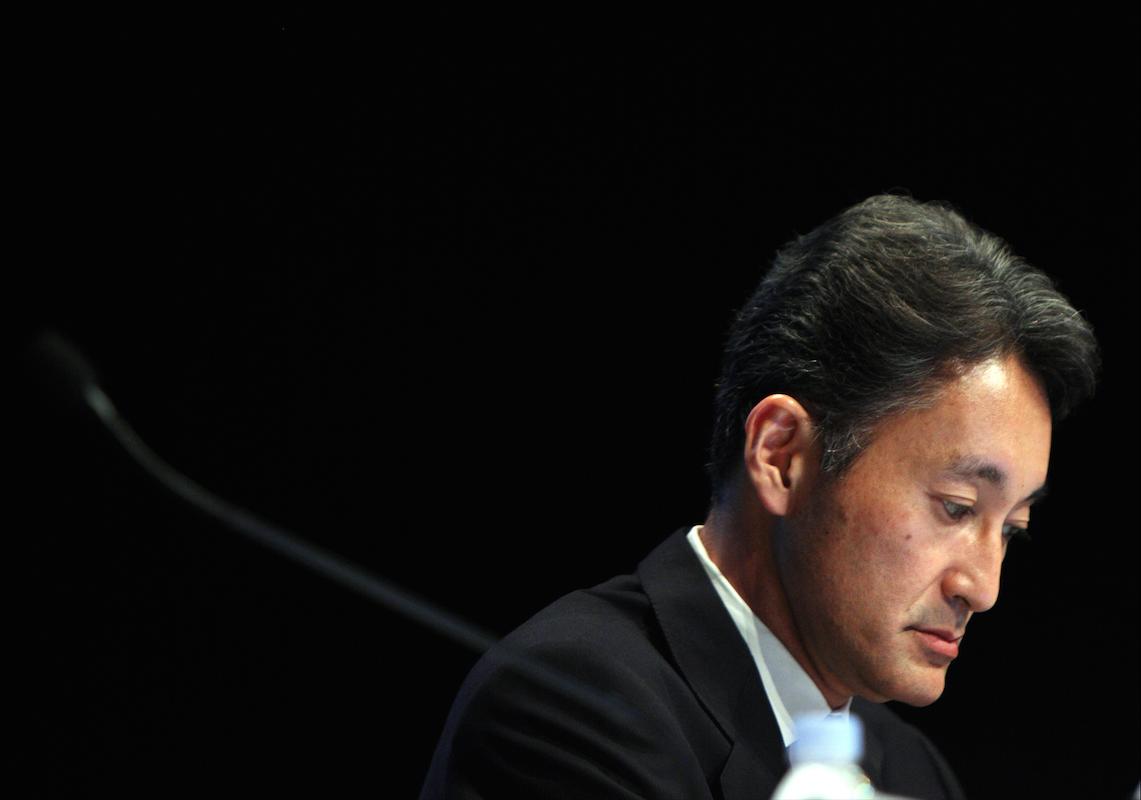 Sony Computer Entertainment CEO Kazuo Hirai 2011