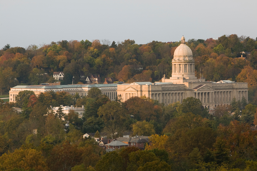 Kentucky State Capitol at dawn