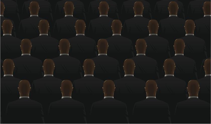 business suits men identical