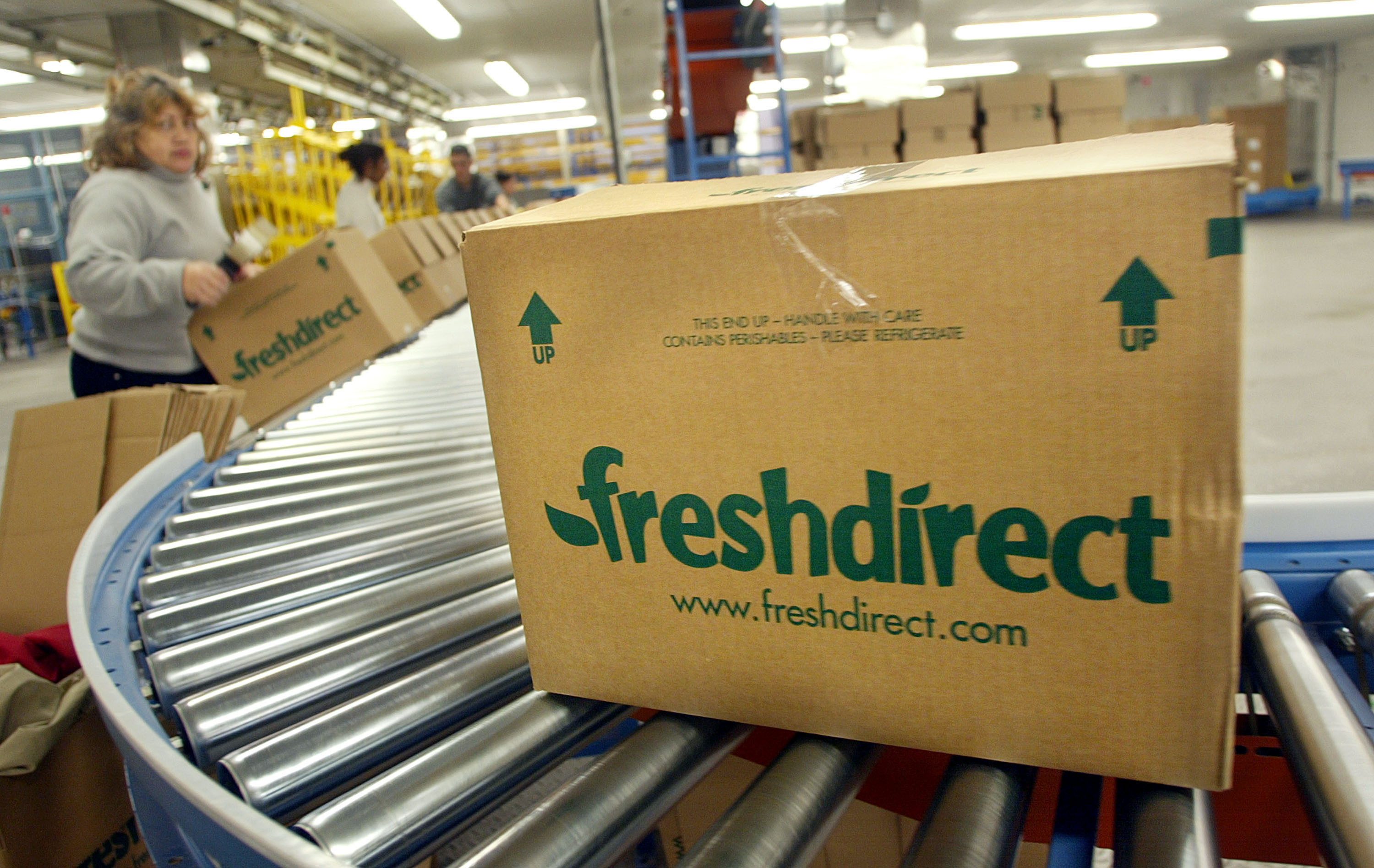 Online Start-Up Helps To Deliver Fresh Food To New Yorkers