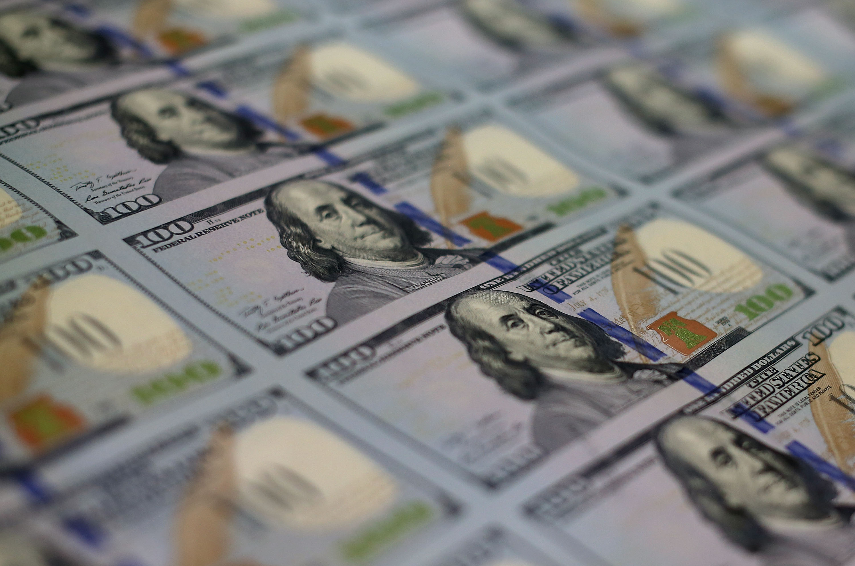 Bureau Of Engraving And Printing Prints New Anti-Counterfeit 100 Dollar Bills