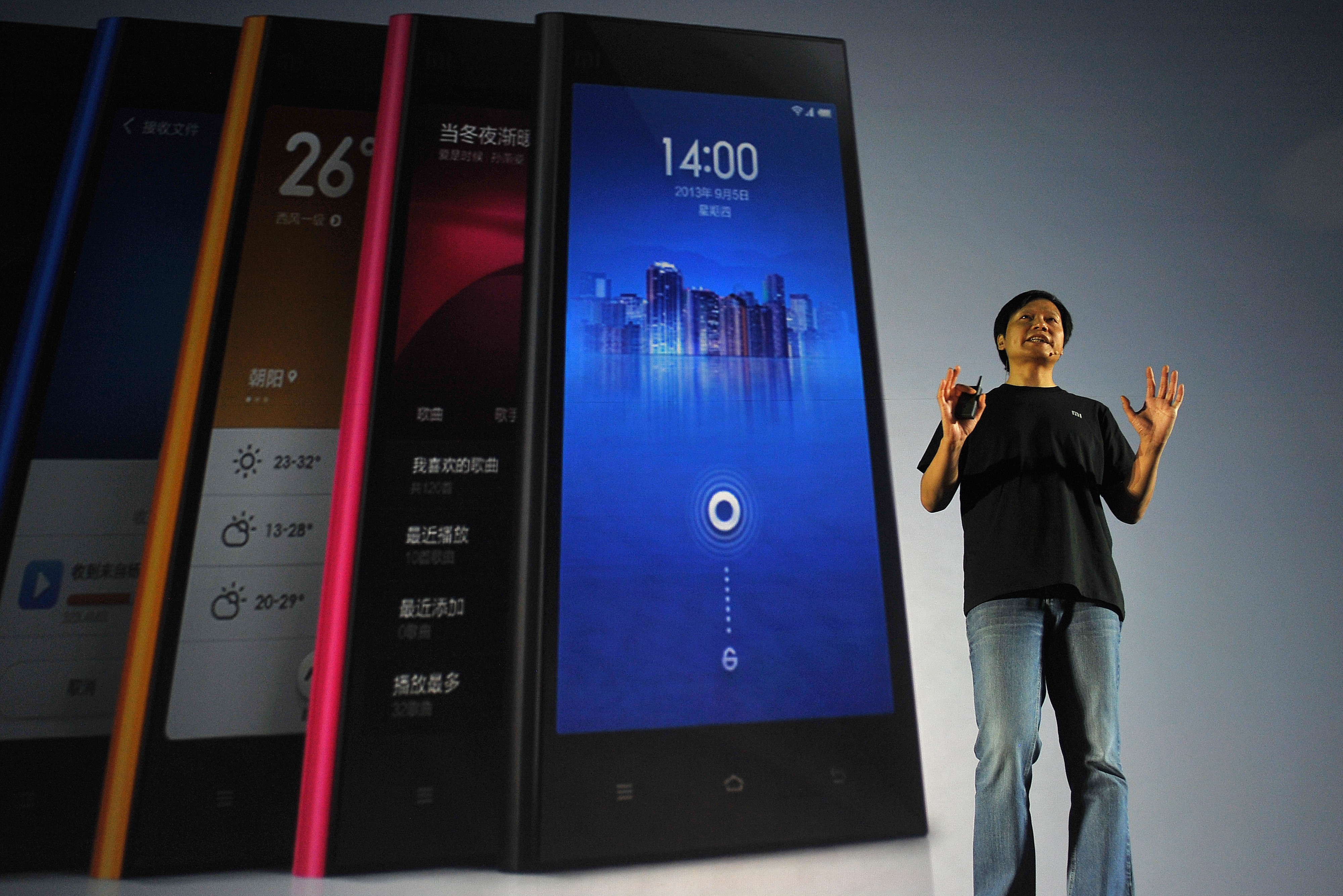 US-CHINA-TELECOMMUNICATION-XIAOMI-GOOGLE