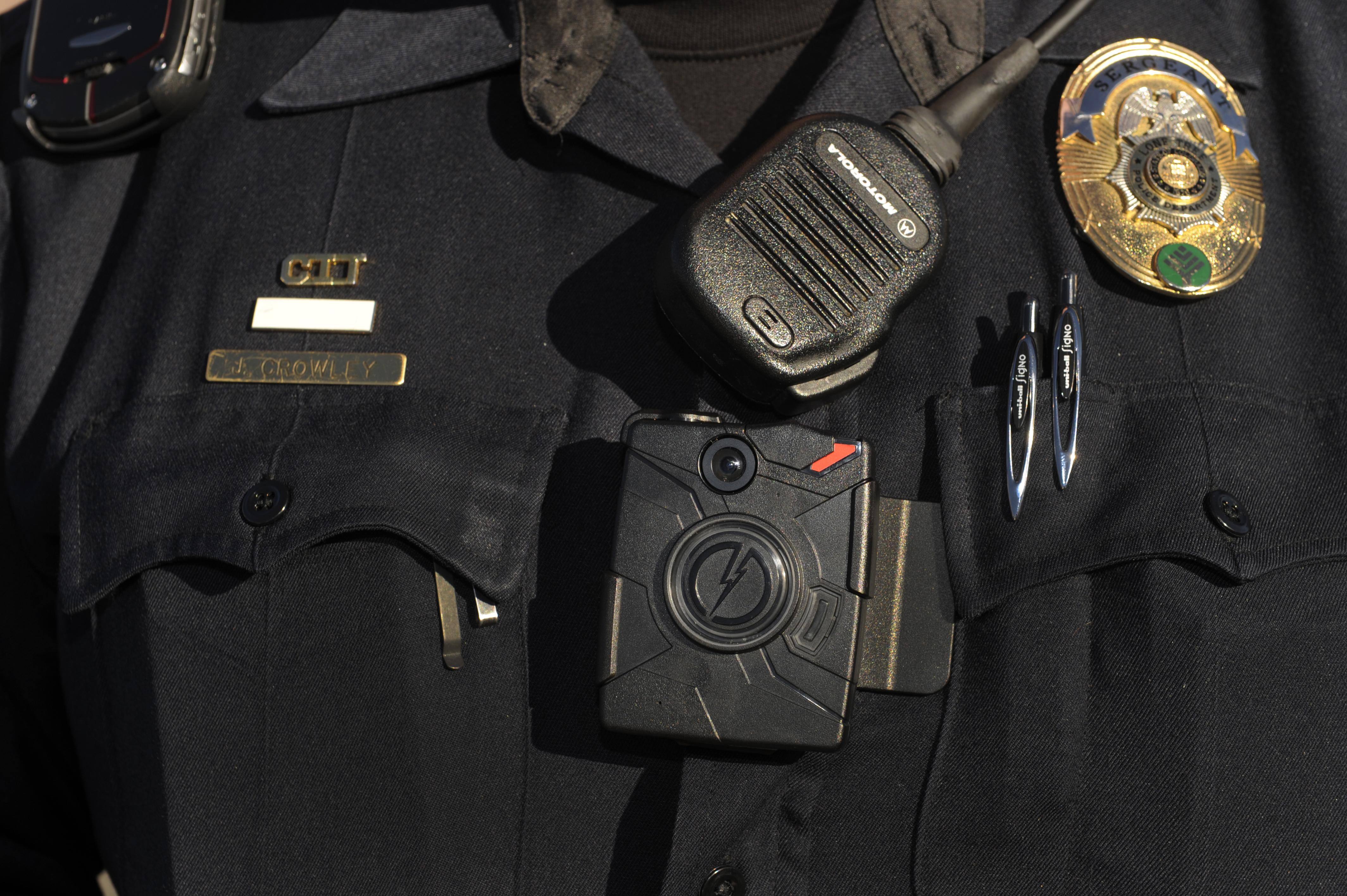 Cameras on Cops