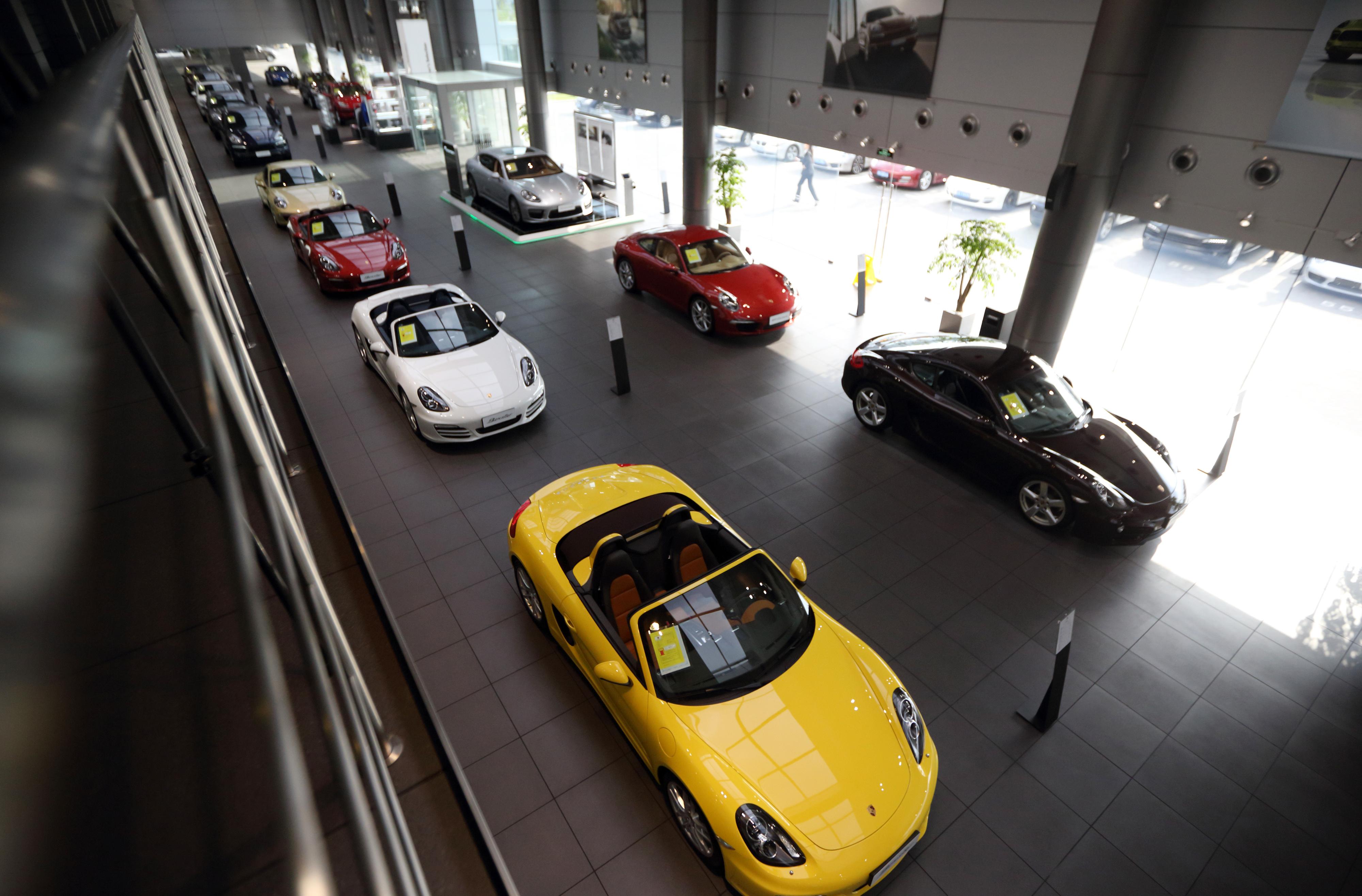 Inside The Porsche Center Shanghai Minhang