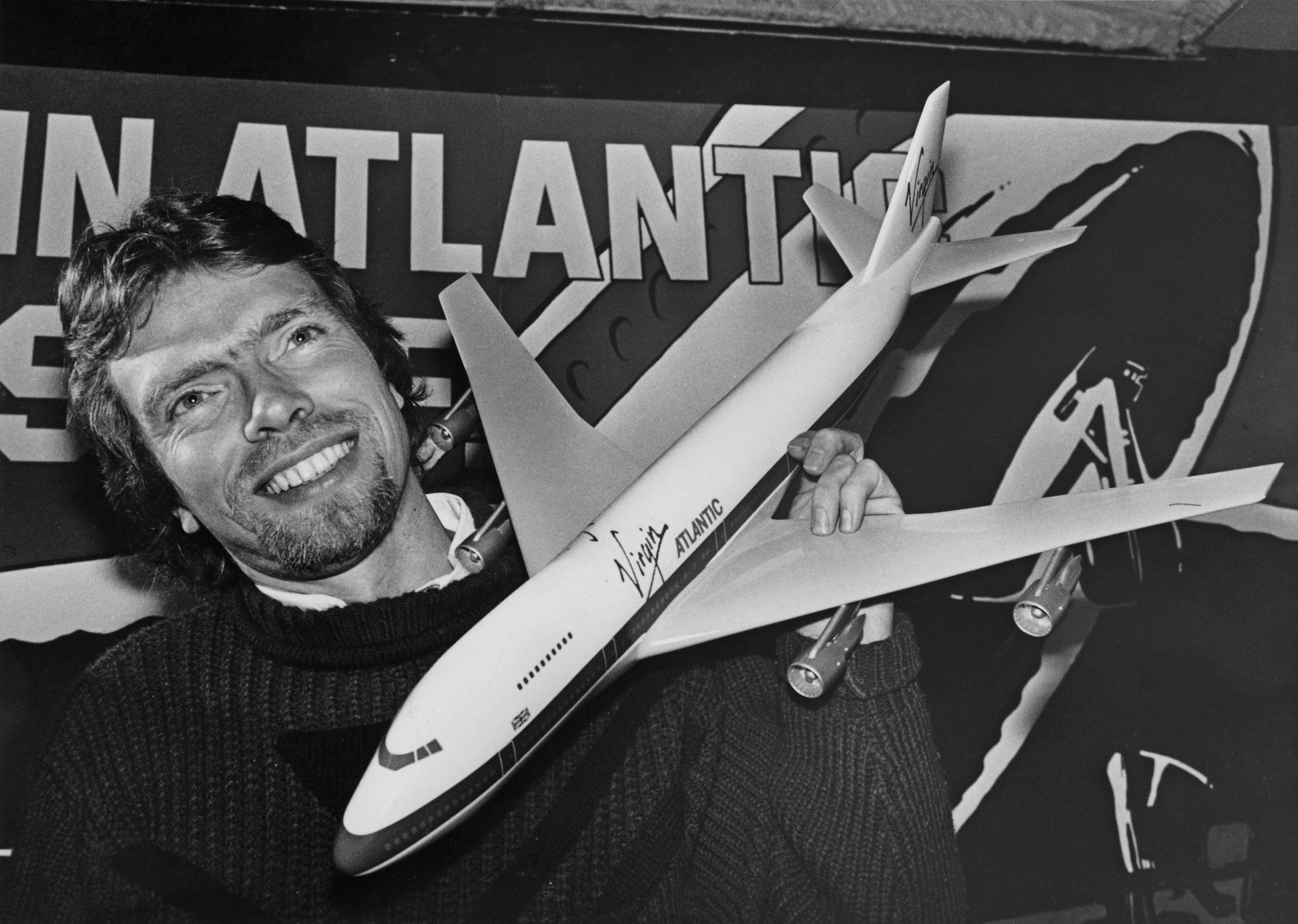 Branson Launches Virgin Atlantic