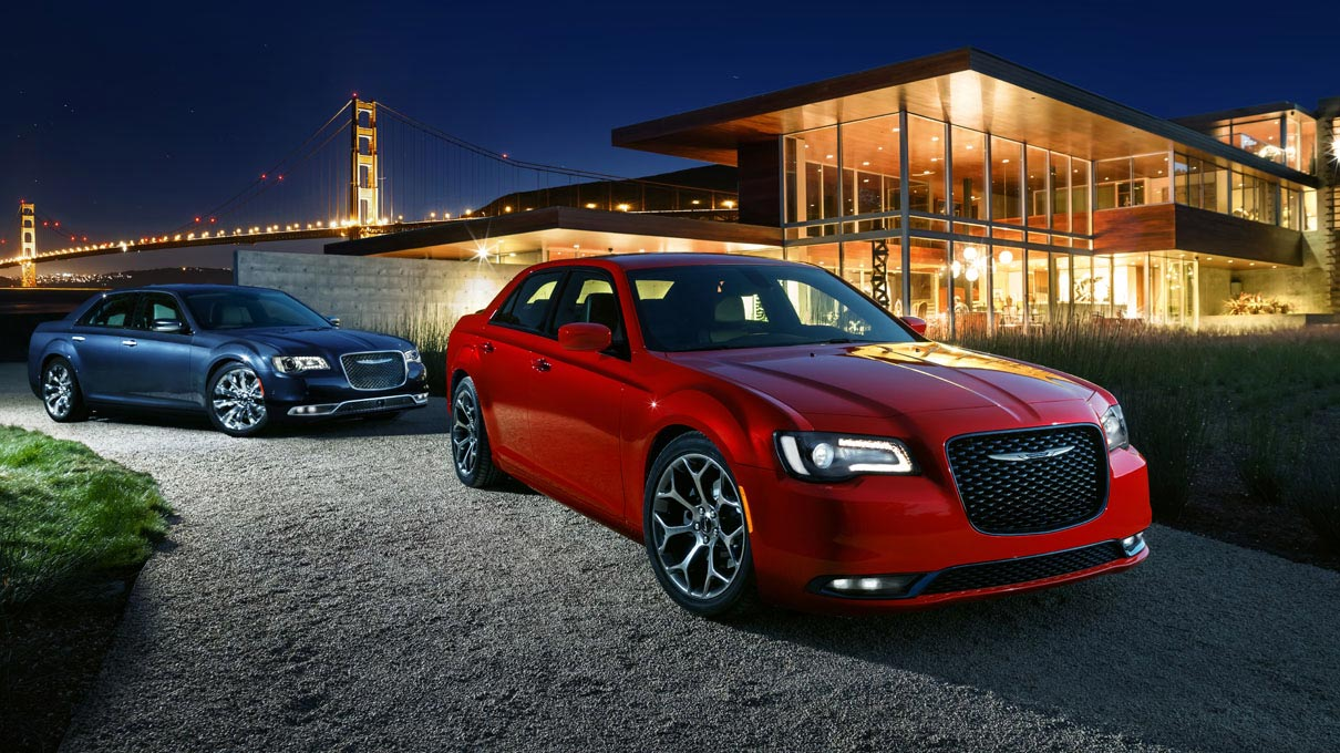 The 2015 Chrysler 300 sedan.
