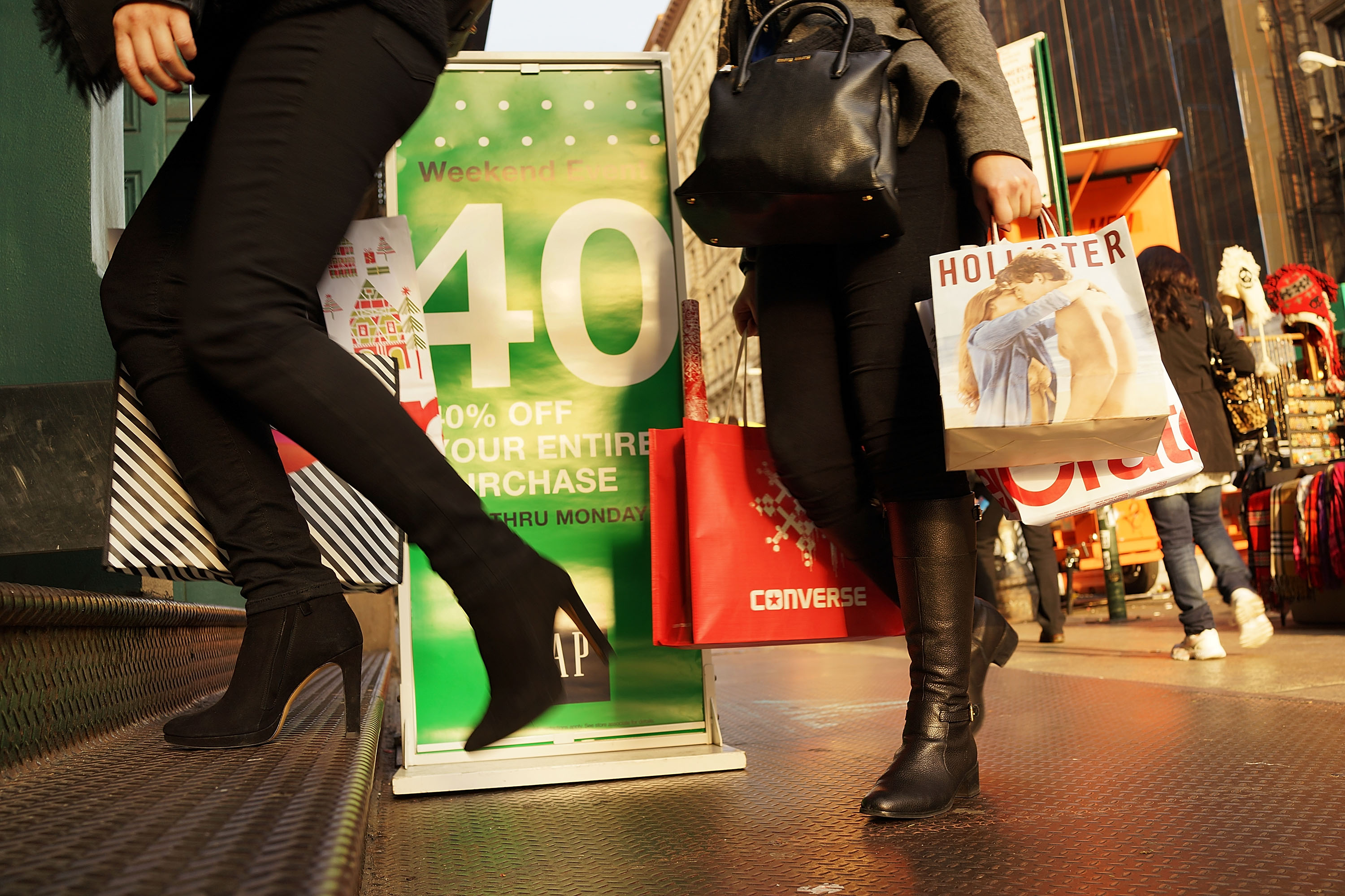 Retailers Seek Customers After First Decline In Black Friday Shopping Since 2009