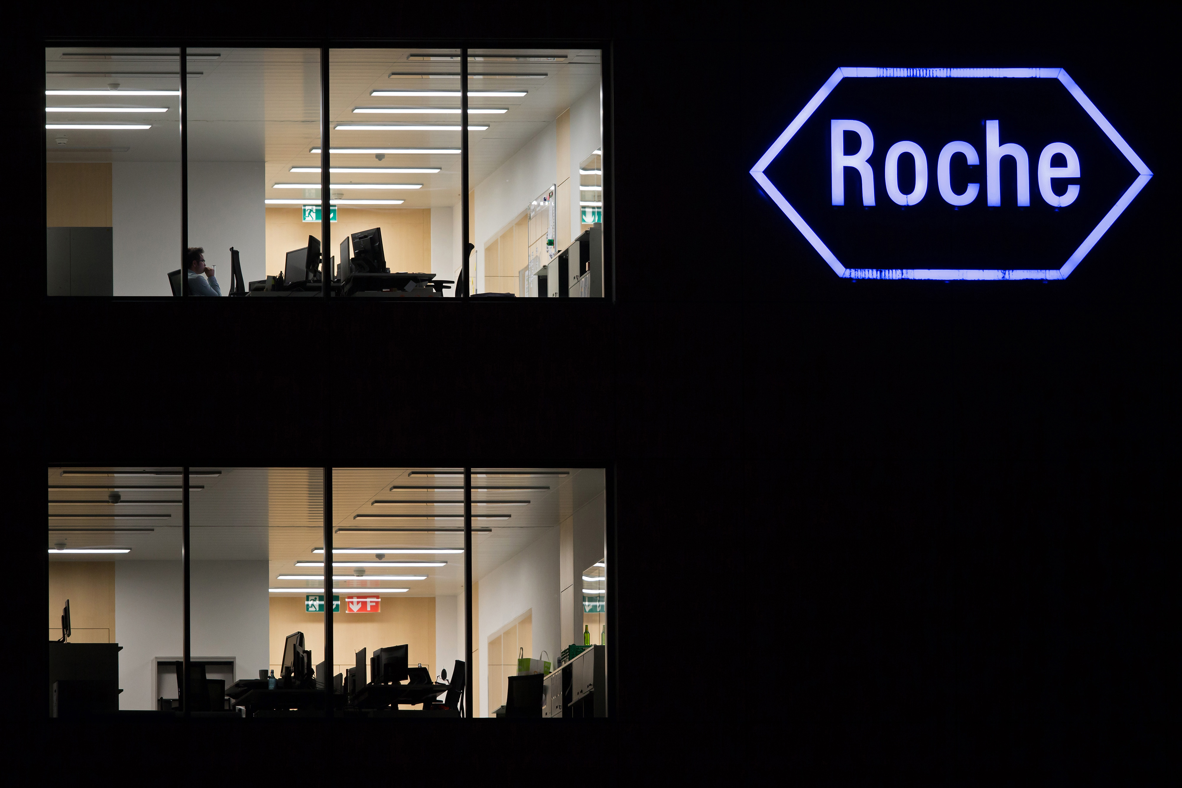 Roche Holding AG's Headquarters As Drugmaker Acquires InterMune Inc. For $8.3 Billion