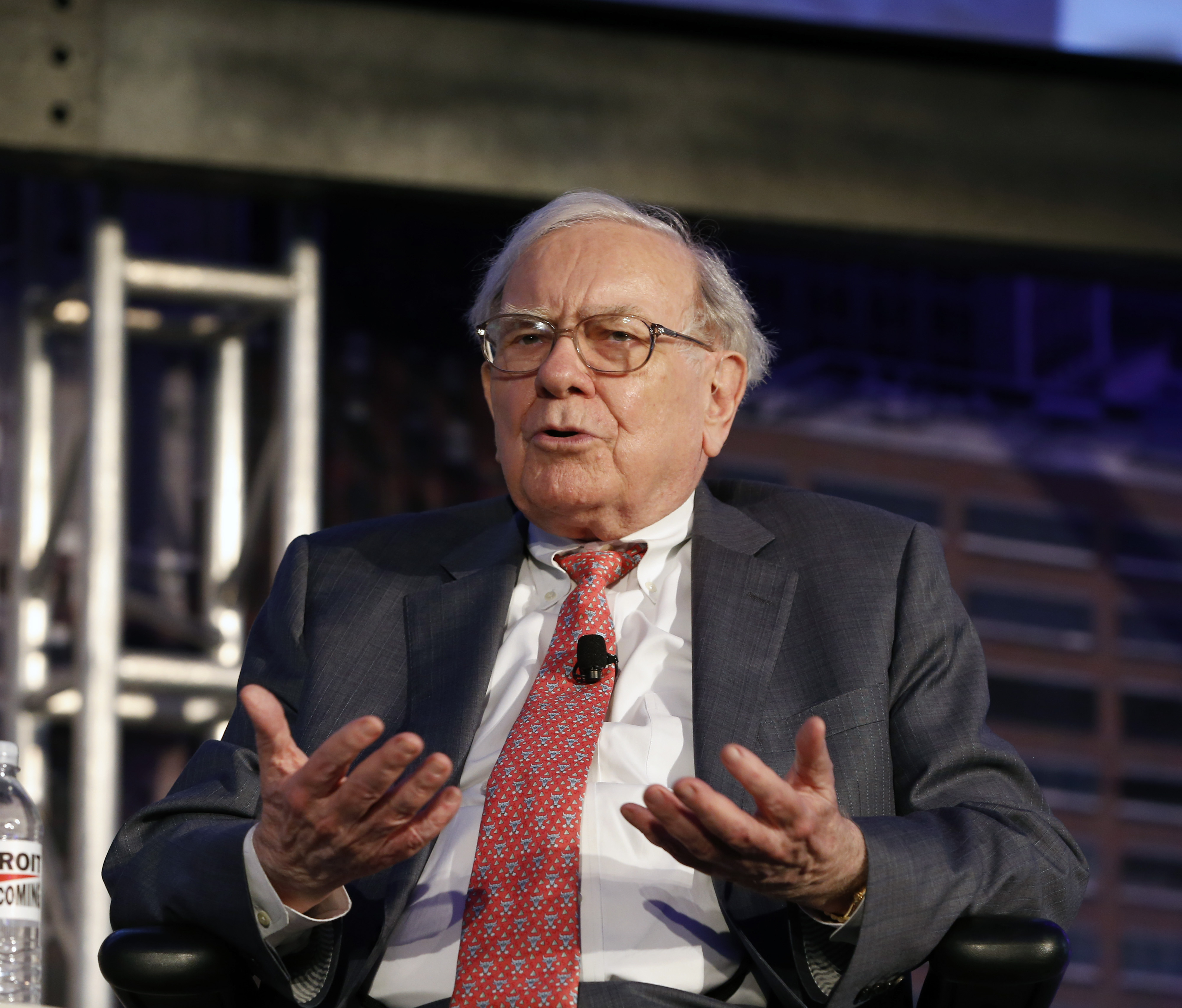Interview With Lloyd Blankfein,Warren Buffett, Michael Bloomberg & Michigan Governor Rick Snyder