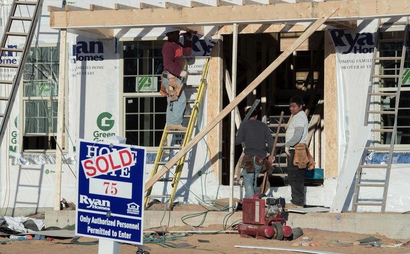 US-ECONOMY-HOUSING-BUILDING
