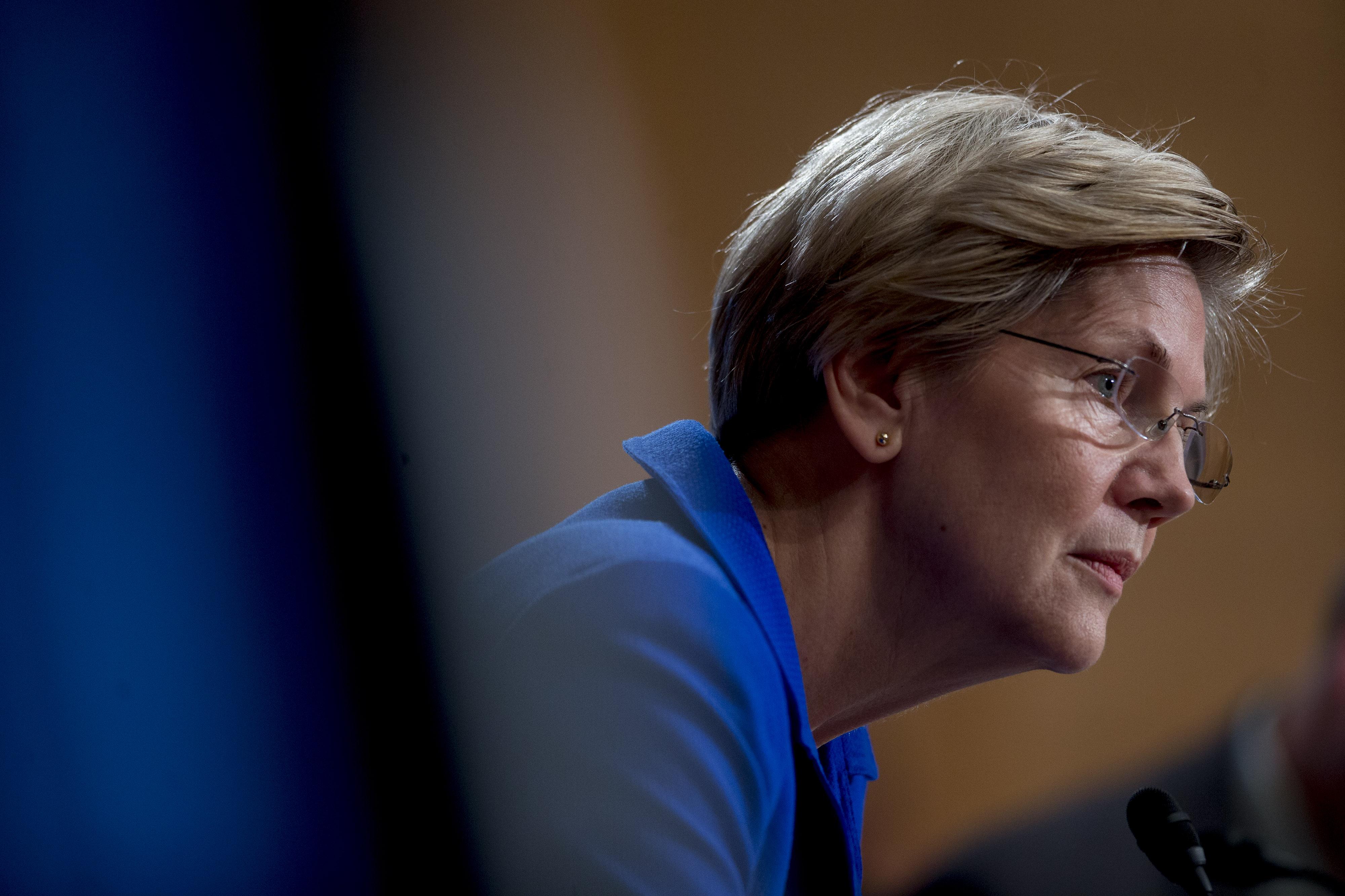 U.S. Sen. Elizabeth Warren of Massachusetts.