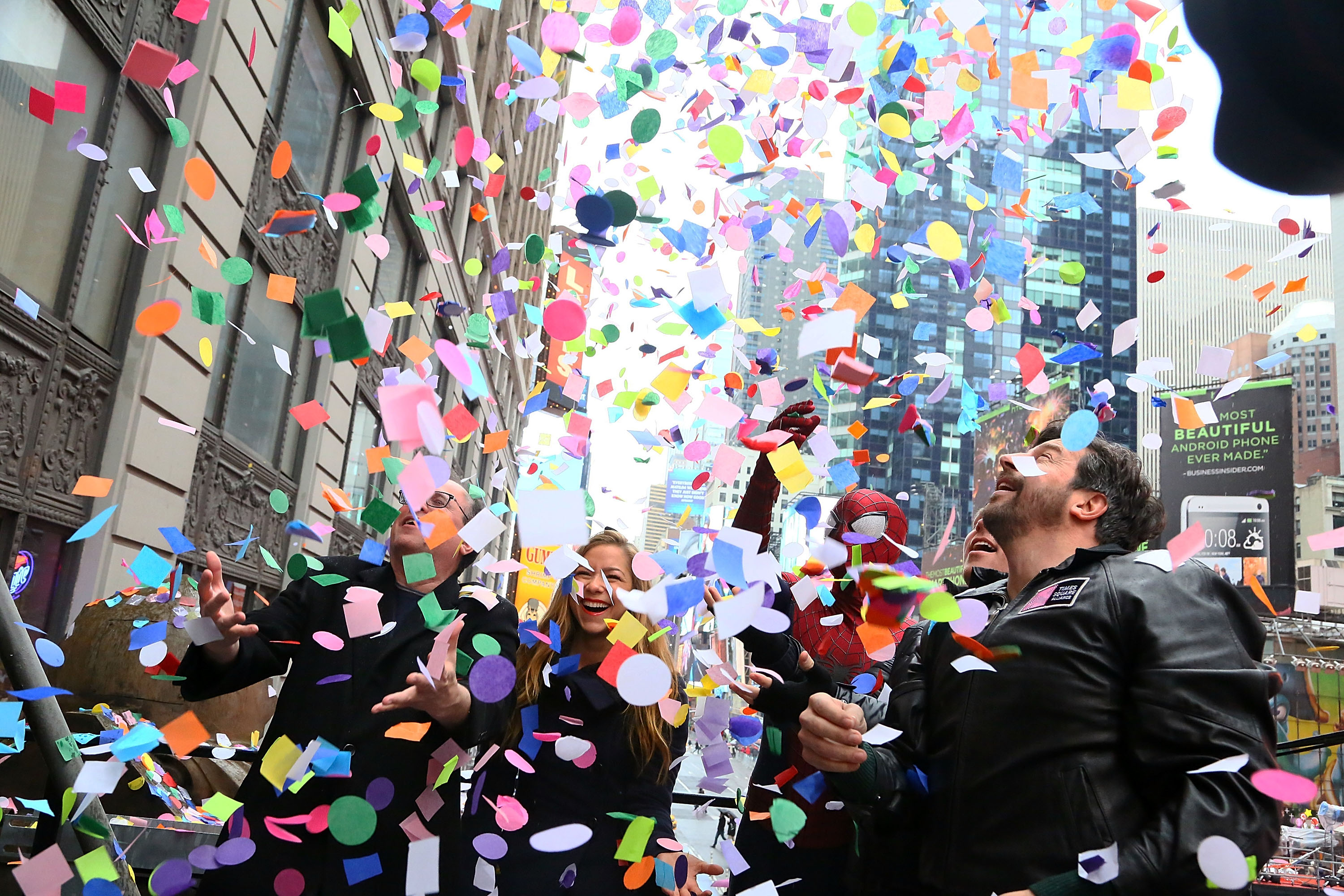 2014 New Year's Eve Confetti Test