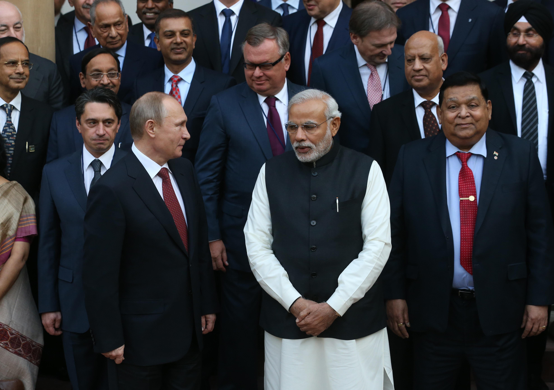 Russian President Vladimir Putin Visits India