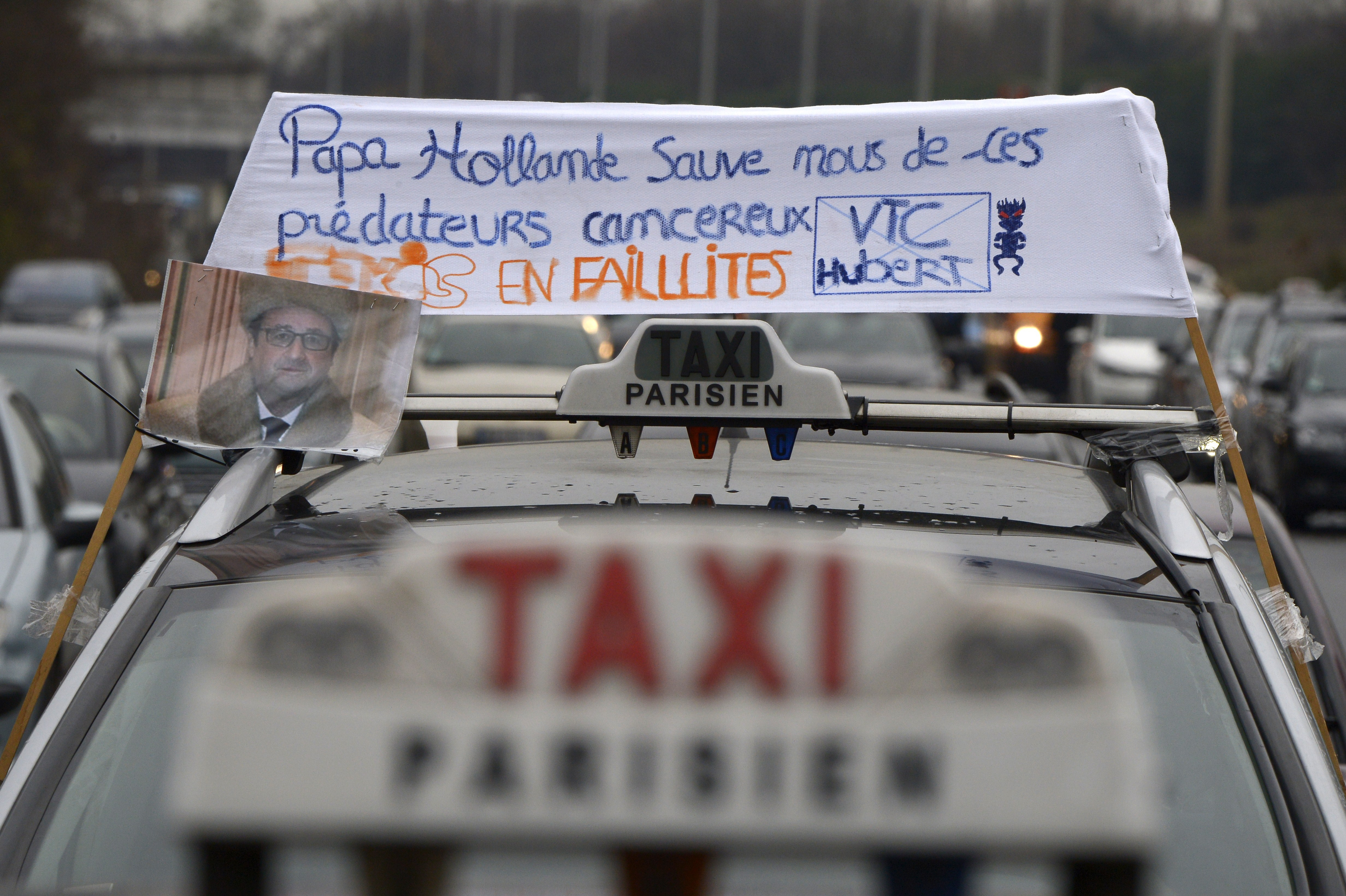 FRANCE-US-TRANSPORT-ECONOMY-PROTEST