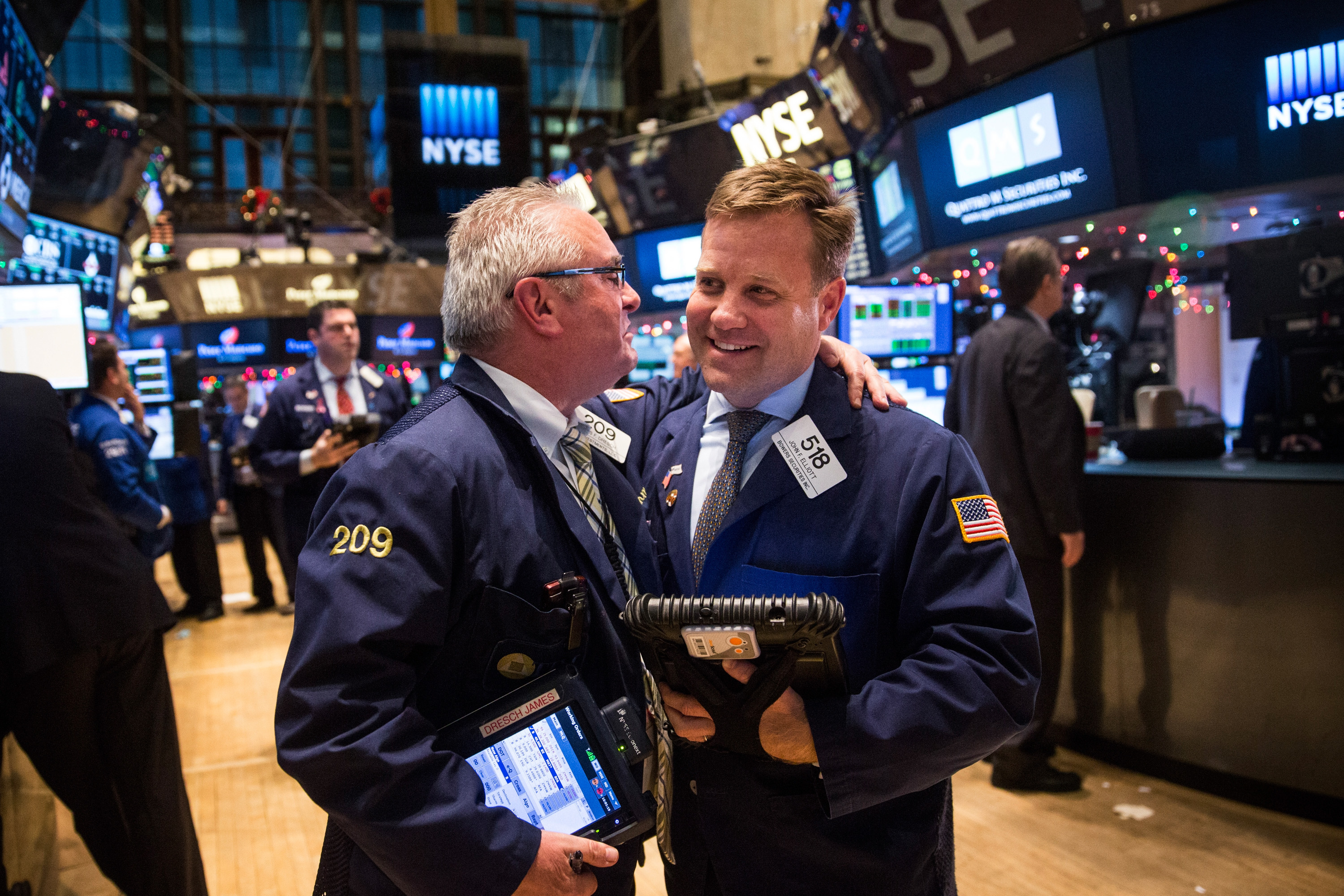 Stocks Rise On Federal Reserve Interest Rate Decision