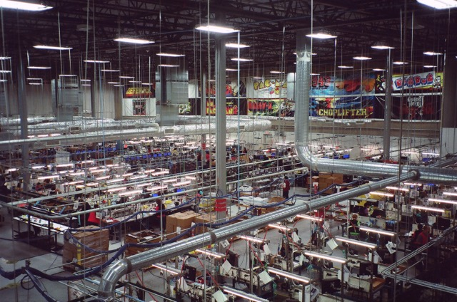 GameStop's refurbishing facility in Grapevine, Texas.