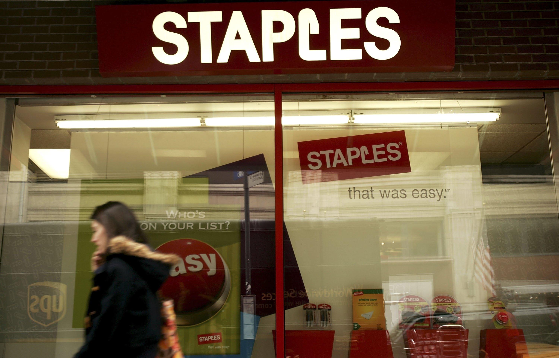 Staples Third Quarter Profit Rises 29 Percent