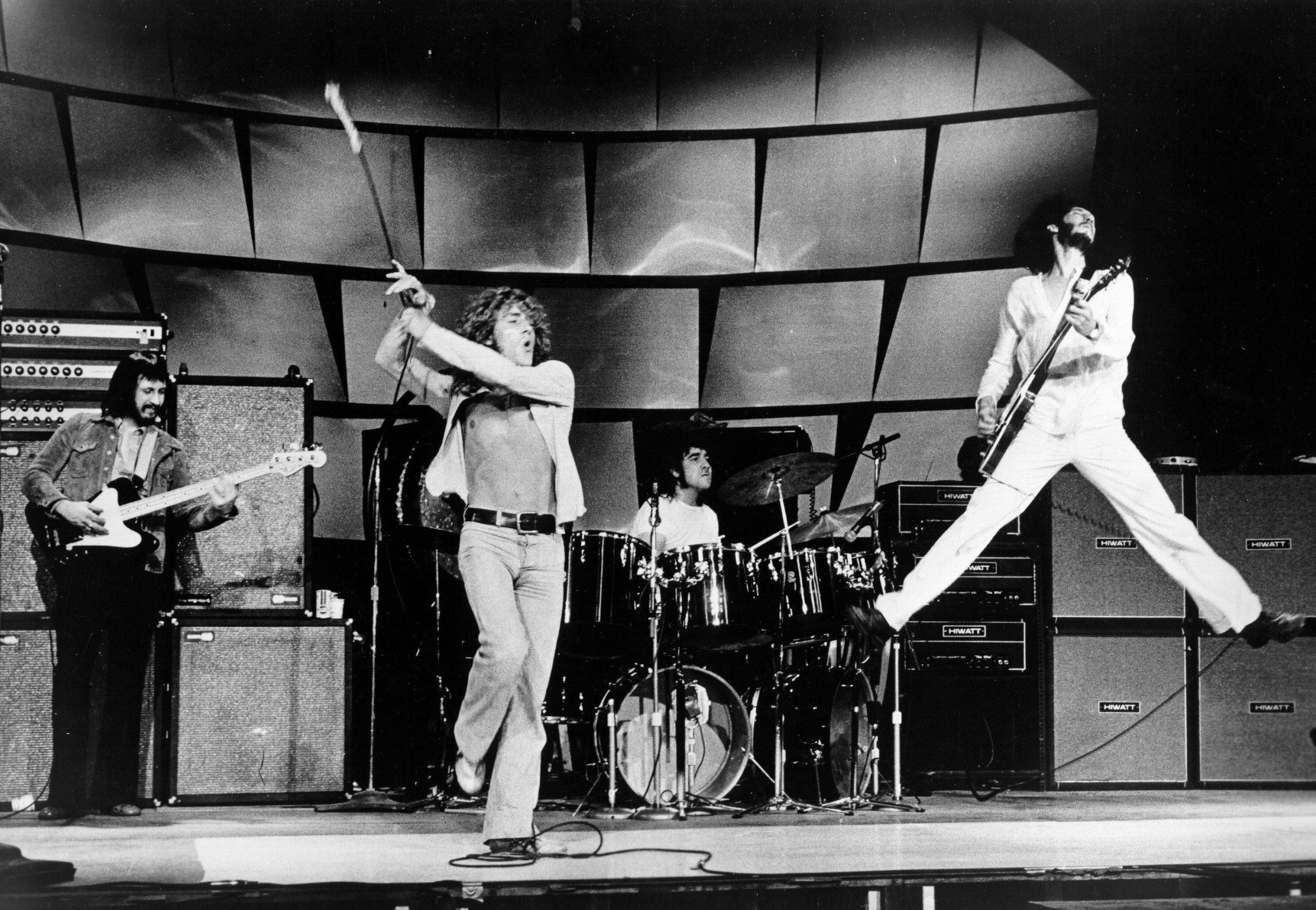 """Rock And Roll Band The Who"""" Performing"""