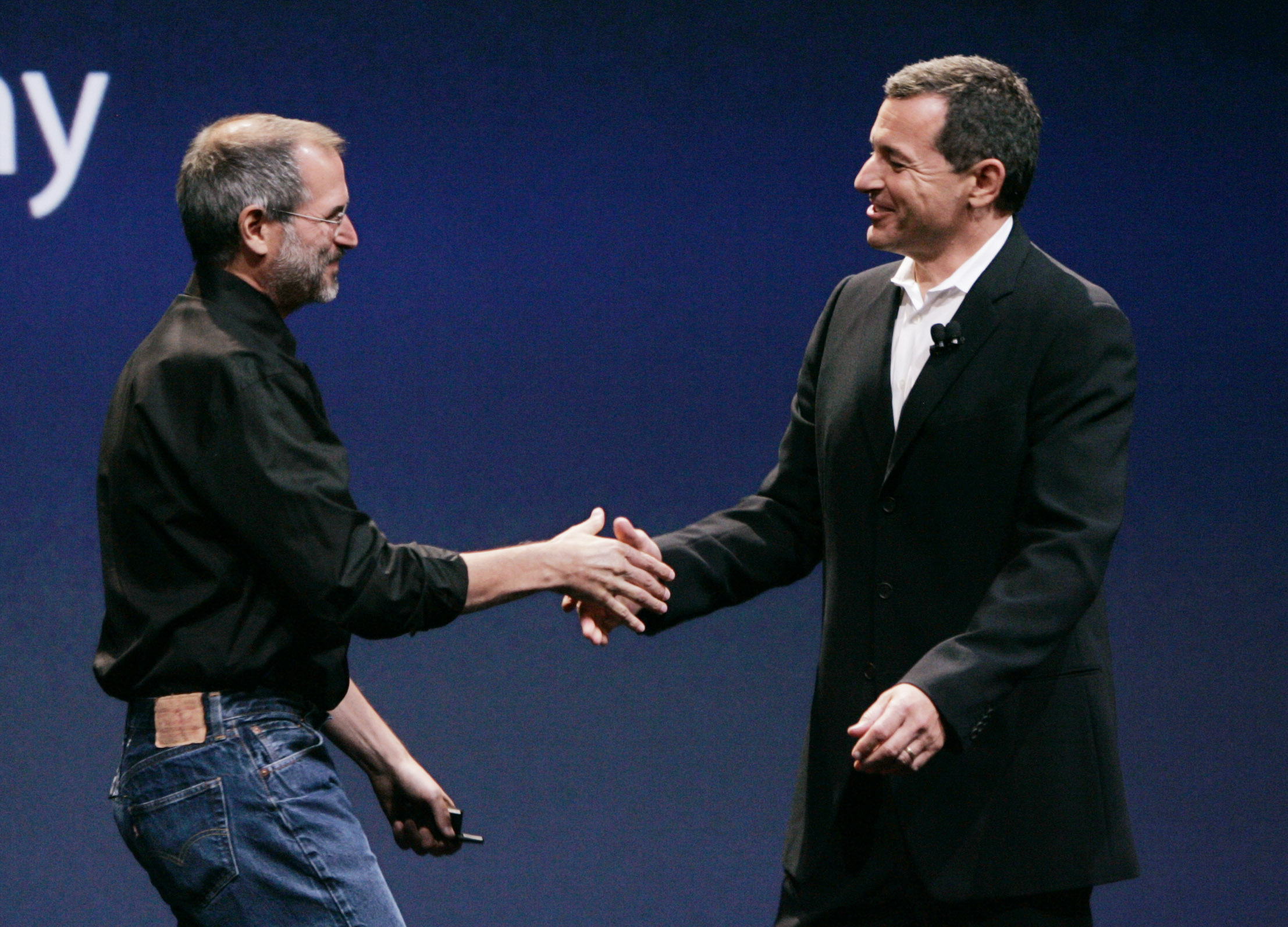 Apple Computer, Steve Jobs, Disney, Bob Iger