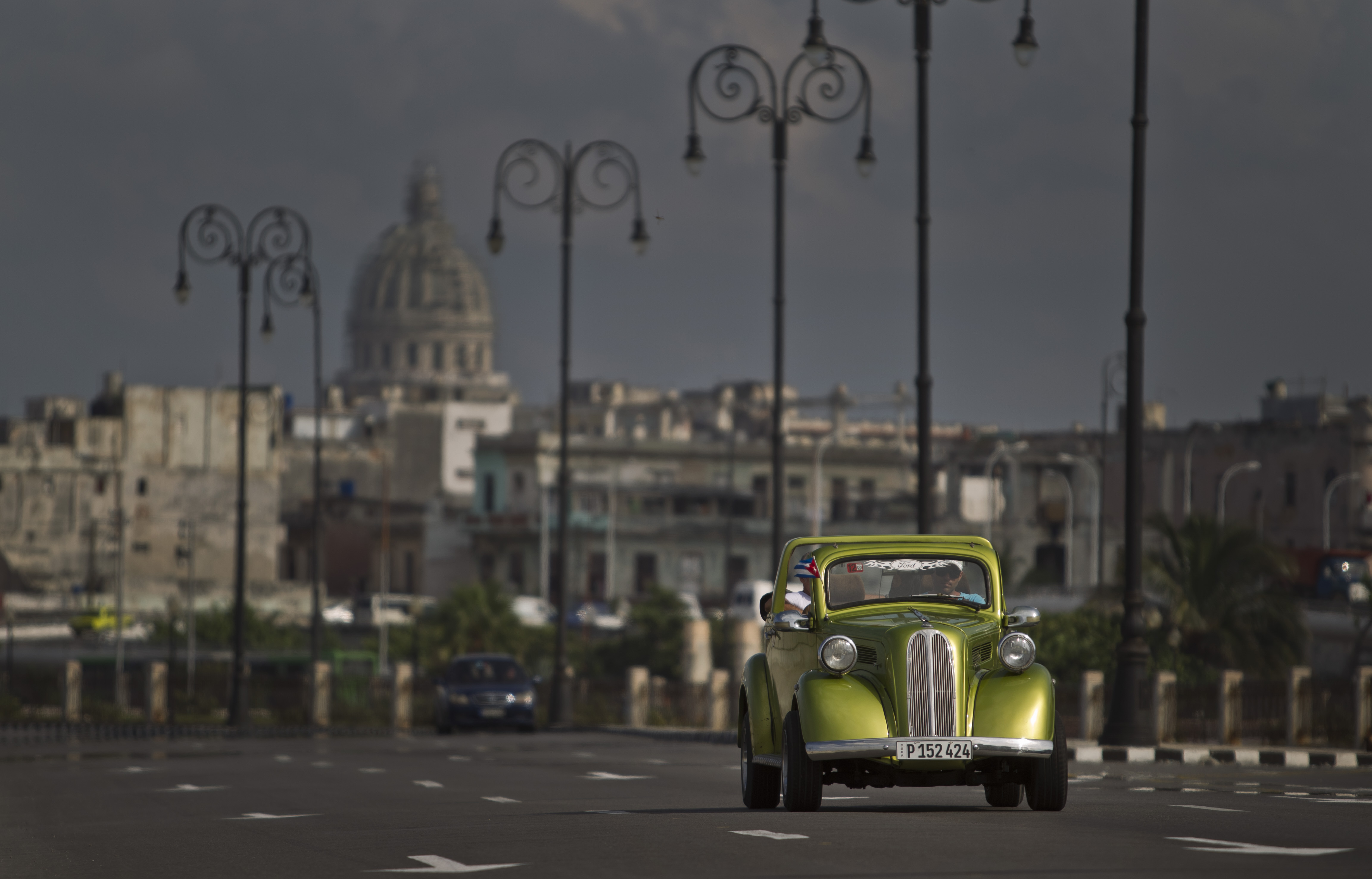 APTOPIX Cuba Classic Cars Photo Gallery