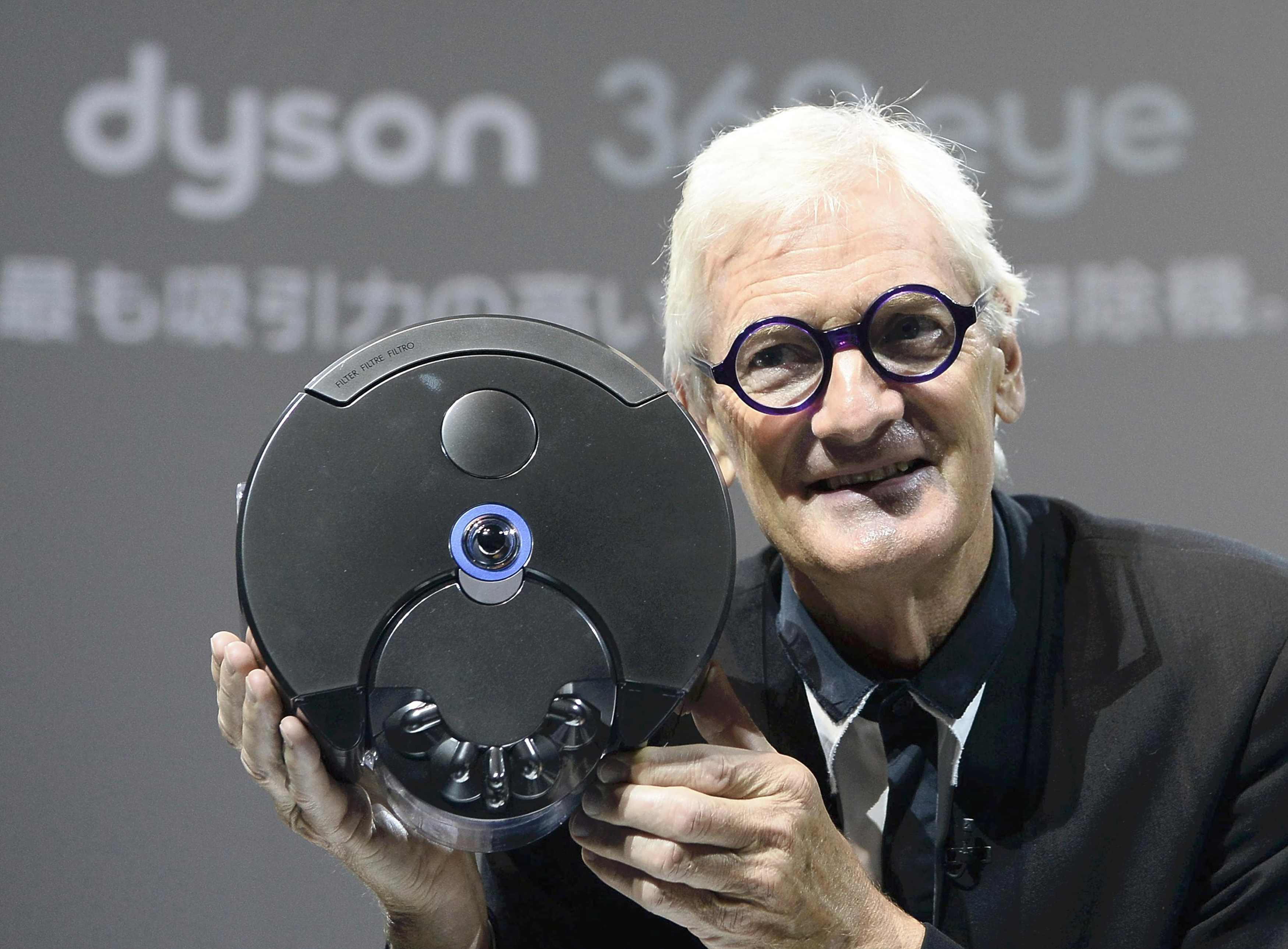 Dyson's new vaccum cleaner unveiled