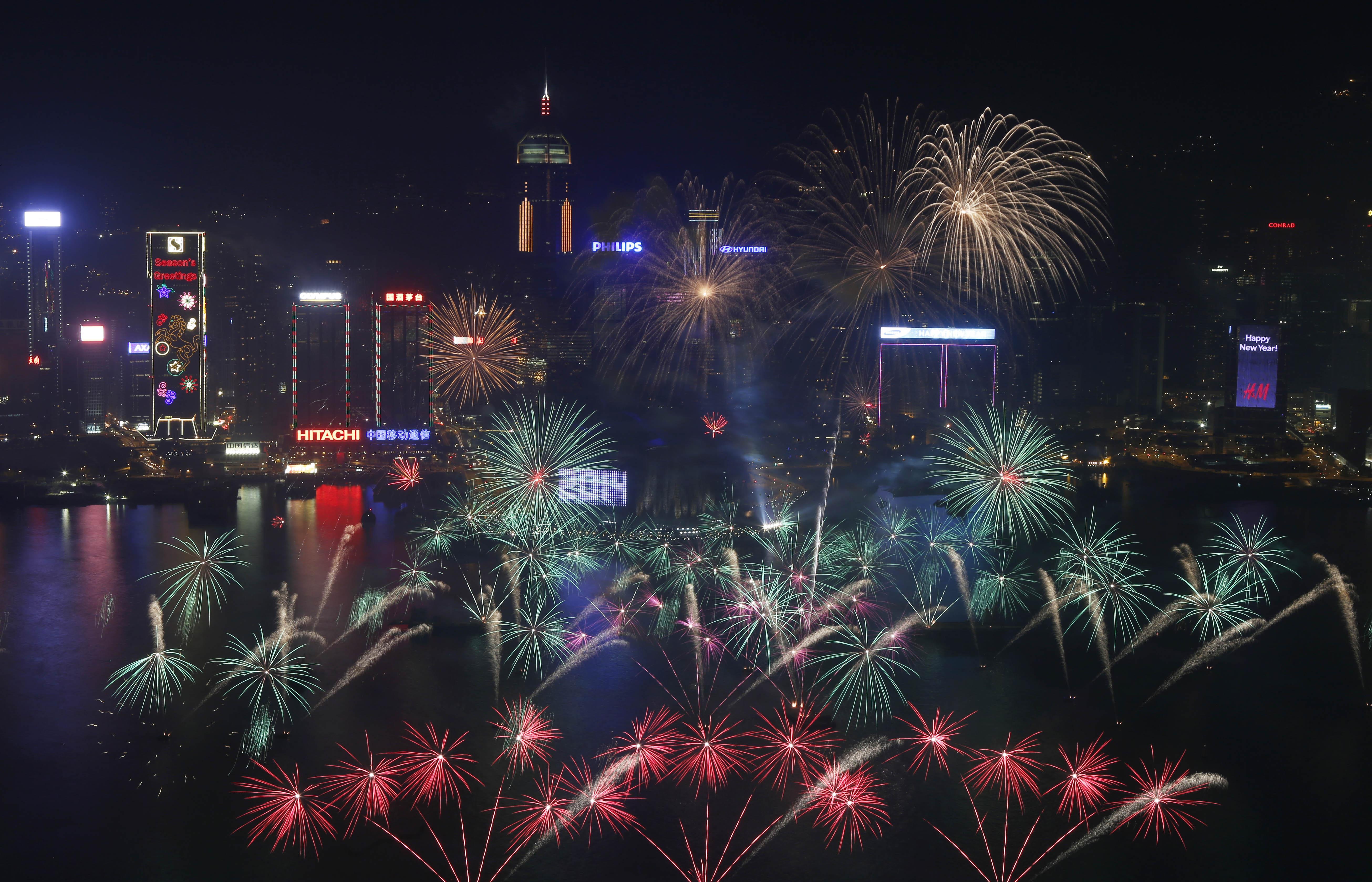 Hong Kong New Years Eve