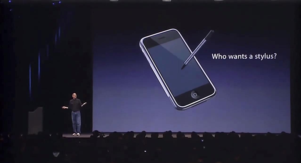 Apple CEO Steve Jobs 2007 iPhone keynote (low-res)