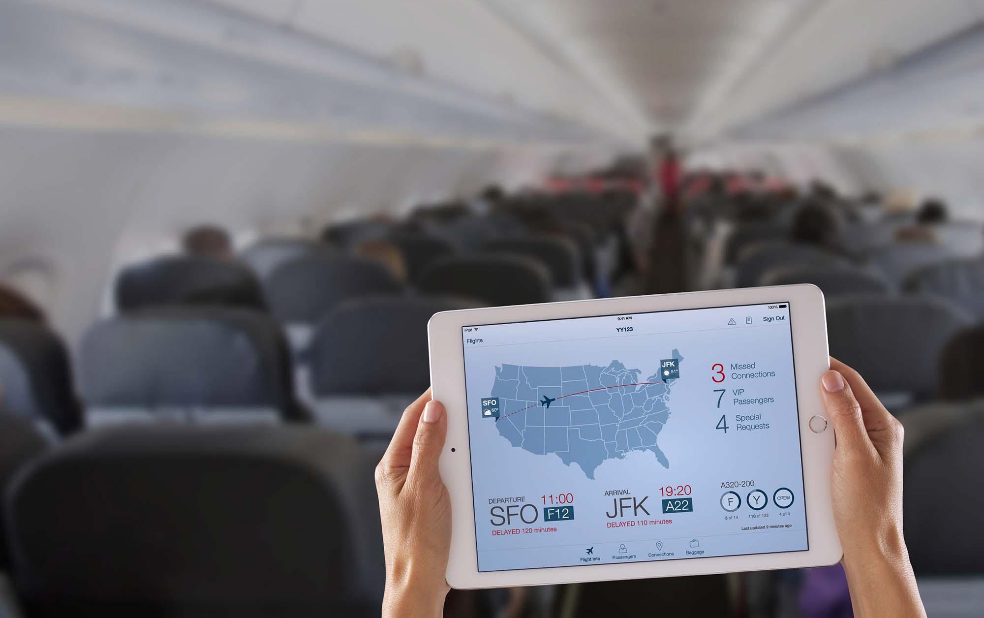 Apple-IBM mobile business application