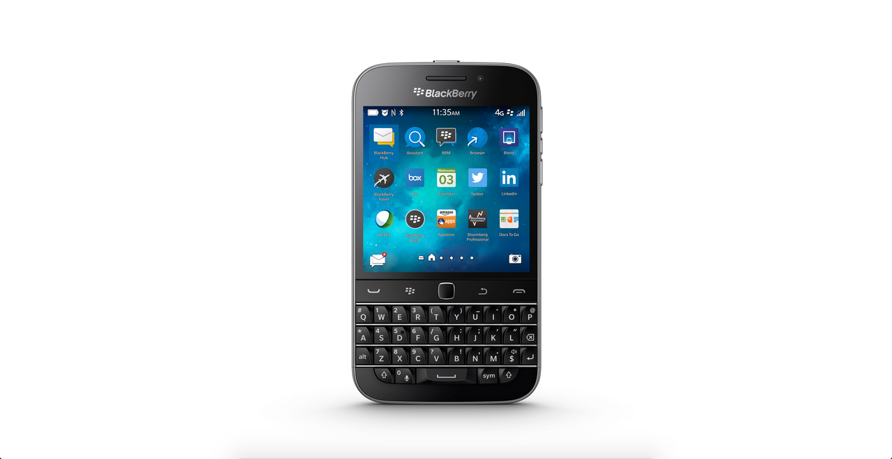 BlackBerry Classic (2014) front wide