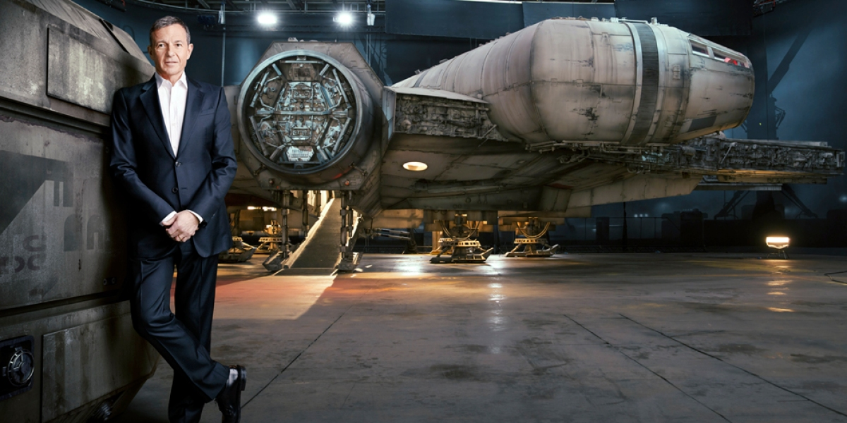 Disney CEO Bob Iger's empire of tech
