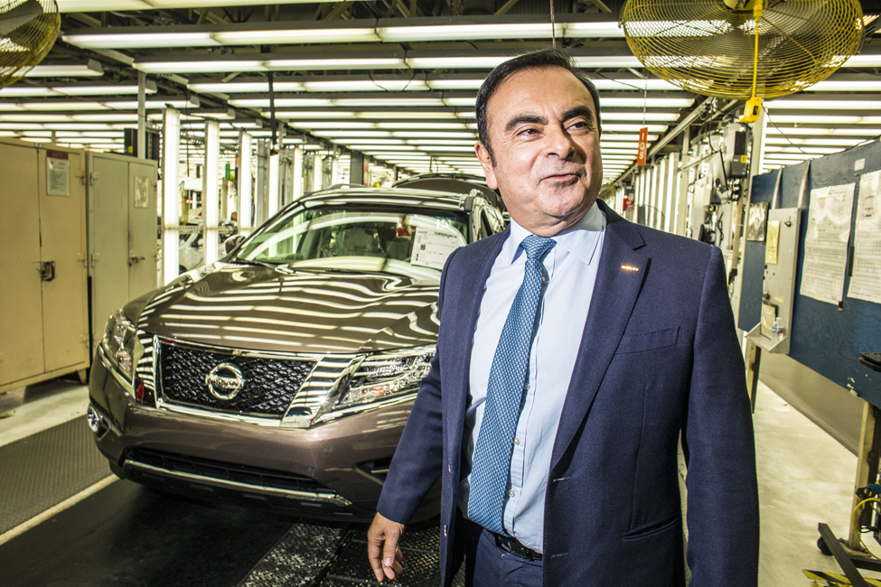 Carlos Ghosn CEO of Nissan