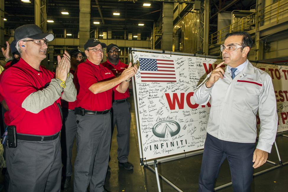 Carlos Ghosn CEO of Nissan