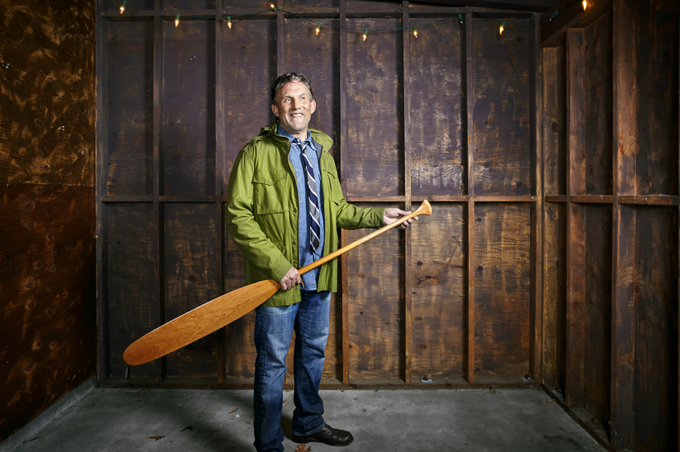 Stephen Gordon, at his Guideboat store in Mill Valley, Calif., in December