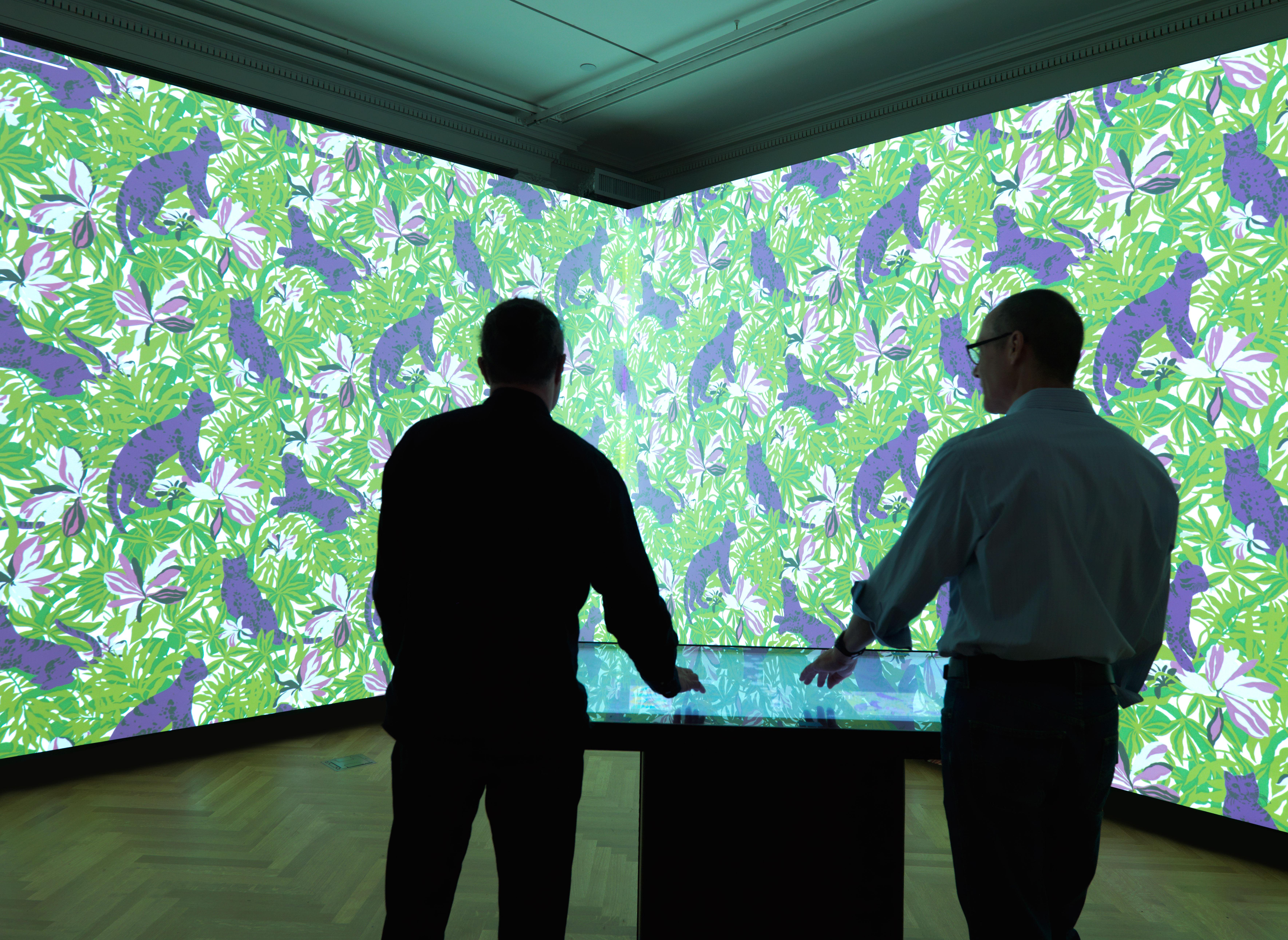 """Cooper Hewitt Museum's new """"Immersion Room"""""""