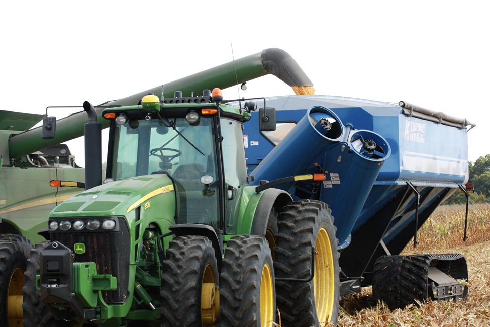 Kinze, driverless tractors