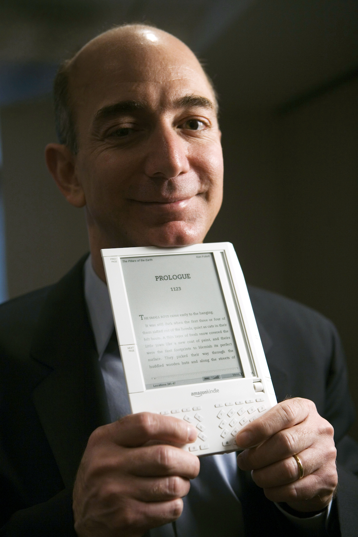 Jeff Bezos, kindle