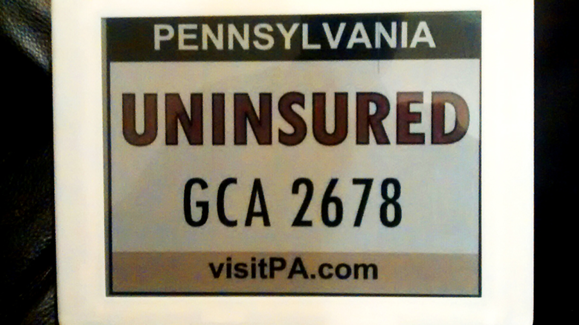 A digital license plate prototype by Compliance Innovations.