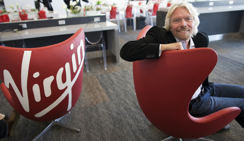 "Branson to Stay ""Major"" Virgin Atlantic Holder as Partner Sought"